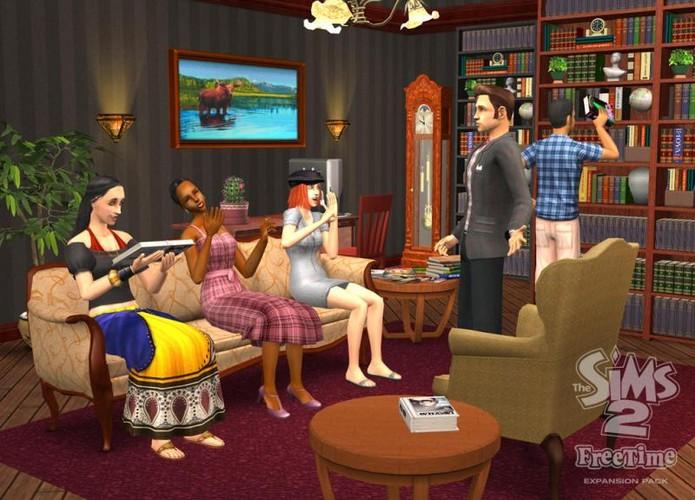 The Sims 2: Tempo Livre (Foto: Divulgação/EA)