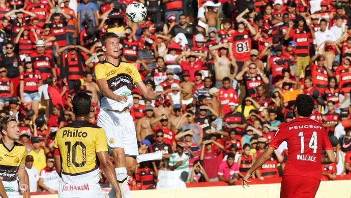 Iago Maidana Criciúma Flamengo (Foto: Fernando Ribeiro / Criciúma EC)