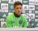 Substituto de Kleber, Berola destaca confiança de Carpegiani no Coritiba