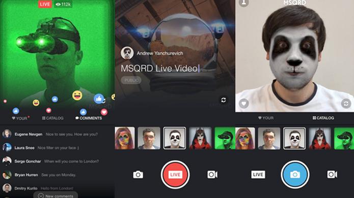 Facebook Live ganhará filtros semelhantes ao do Snapchat (Foto: Divulgação/Facebook)