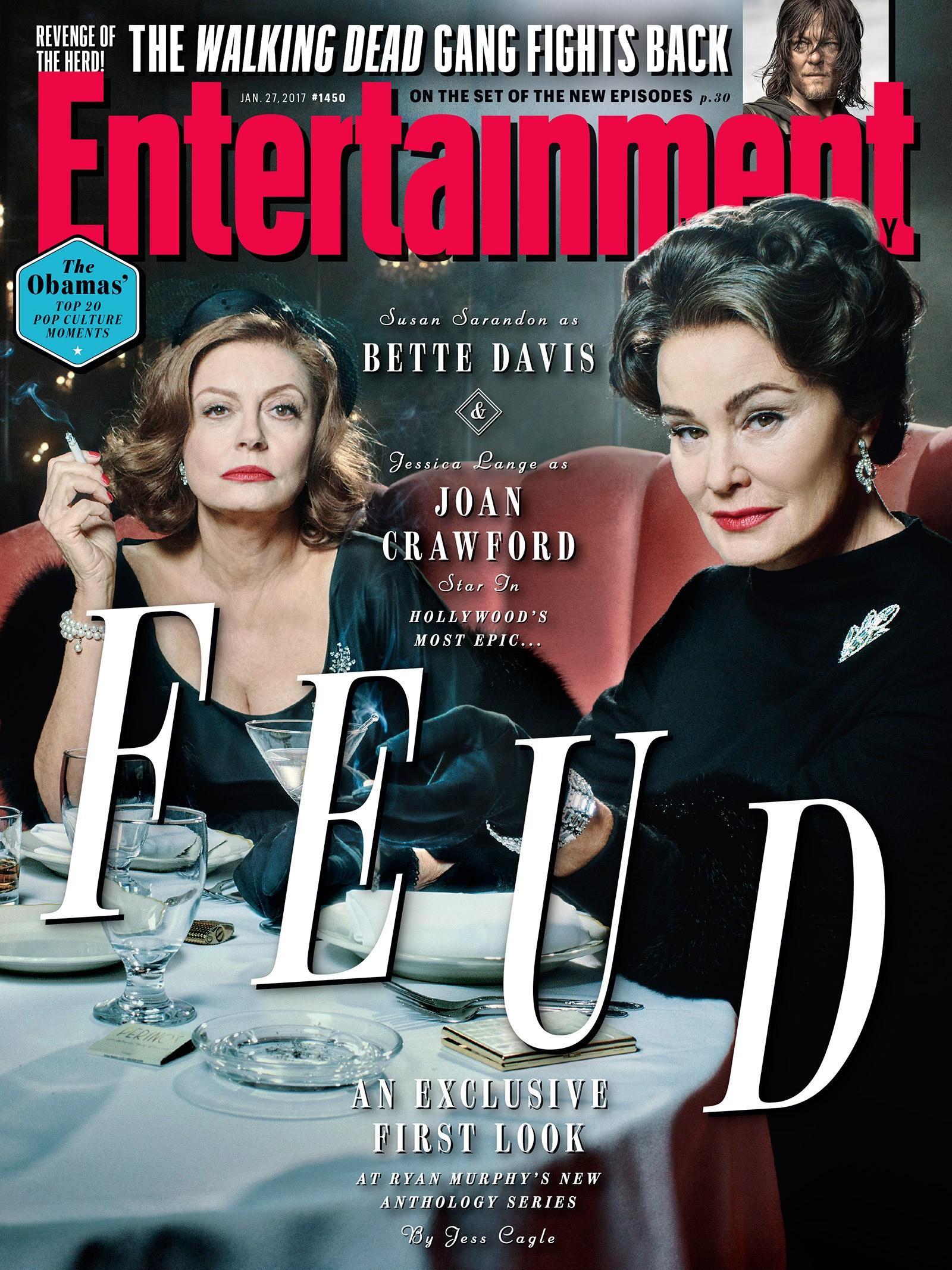 'Feud: Bette and Joan' (Foto: Reprodução / EW)