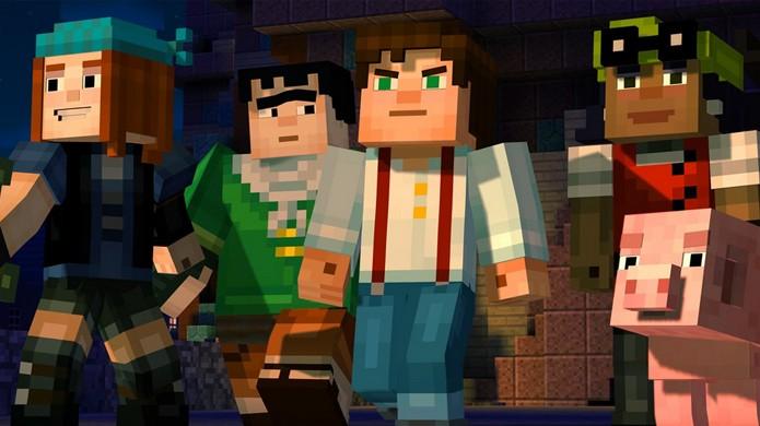 Minecraft: Story Mode disponibiliza seu primeiro episódio gratuitamente no PlayStation 4, PS3, Xbox One e X360 (Foto: Reprodução/Game Pilot)
