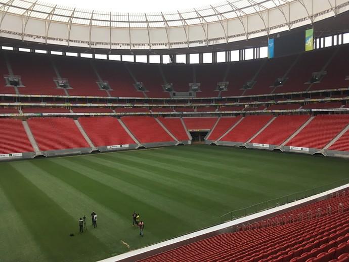 Mané Garrincha deve receber até seis jogos do Flamengo em 2017 (Foto: Globoesporte.com)