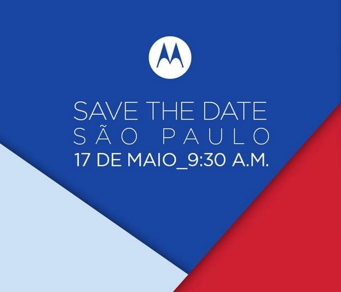 Motorola envia convite para provável lançamento do Moto G 4 (Foto: Divulgação/Motorola)