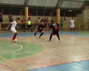 acreano de futsal da 2ª divisão quadra universitário (Foto: Reprodução/Rede Amazônica Acre)
