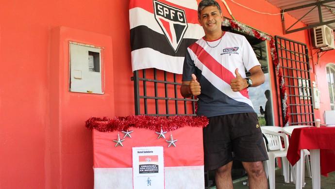 Gilsomar Lopes-ex-presidente da embaixada do Acre (Foto: Renato Pereira)