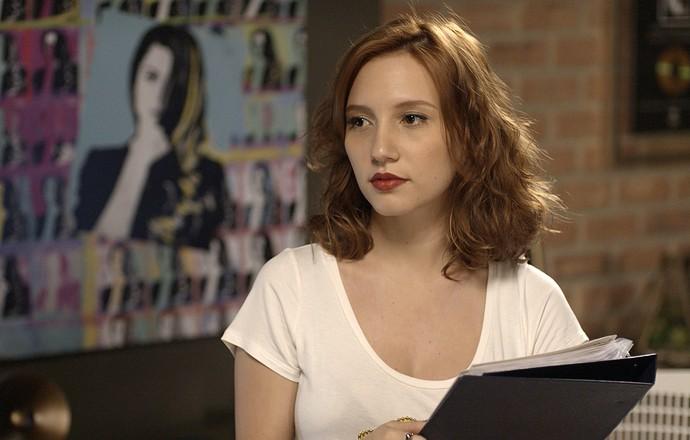 Vanessa deixa Diana balançada com perguntas sobre Gui (Foto: TV Globo)