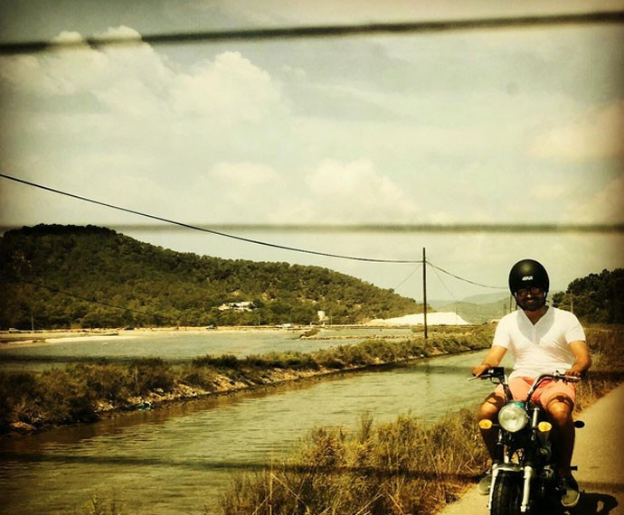 Momento de aventura (Foto: Arquivo Pessoal)