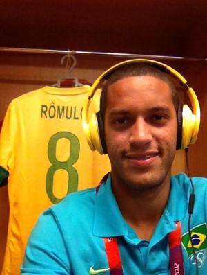 Rômulo seleção brasileira (Foto: Divulgação/CBF)
