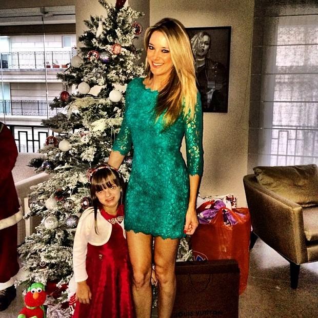 Ticiane Pinheiro e Rafinha Justus no Natal (Foto: Instagram / Reprodução)