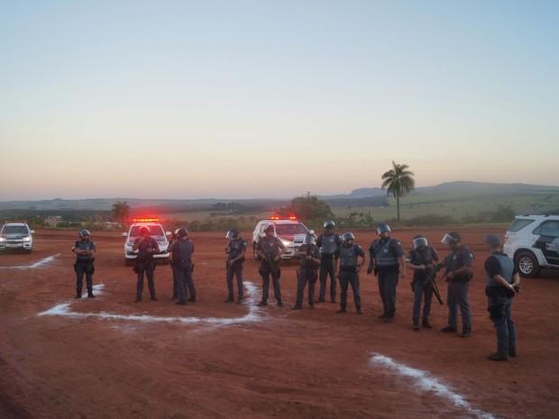 Policias militares de seis cidades participam de treinamento em Descalvado (Foto: Divulgação/Polícia Militar)