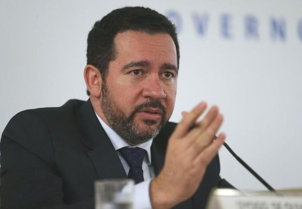 O ministro do Planejamento, Desenvolvimento e Gestão, Dyogo Oliveira, fala sobre projeto de concessões (Foto: Fabio Rodrigues Pozzebom/Agência Brasil)
