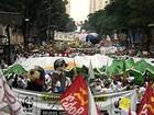 Ativistas protestam contra falta de avanços no texto da Rio+20