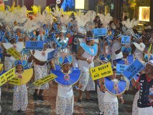 Carnaval 2013 Piracicaba - Amigos da Rua do Porto (Foto: Fernanda Zanetti/G1)