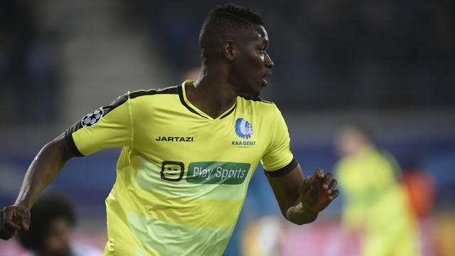 Coulibaly, autor do segundo gol do GENT
