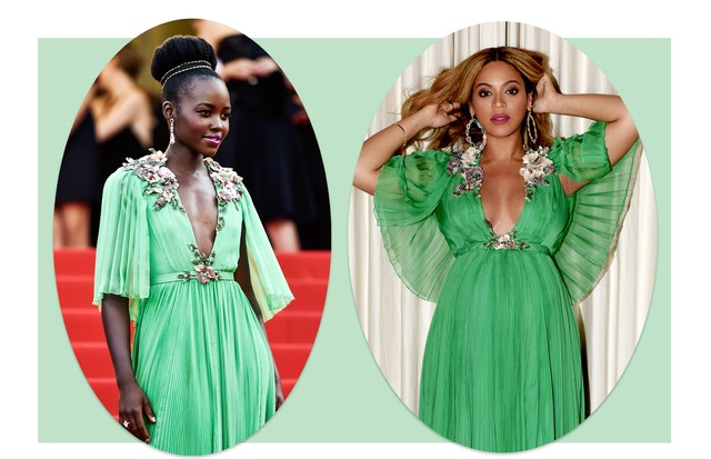 Lupita Nyong'o e Beyoncé (Foto: Reprodução/ Getty Danny E. Martindale / Stringer / Pascal Le Segretain / Staff)
