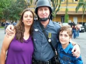 Menino é suspeito de matar os pais e se matar em São Paulo (Foto: Reprodução/TV Globo)