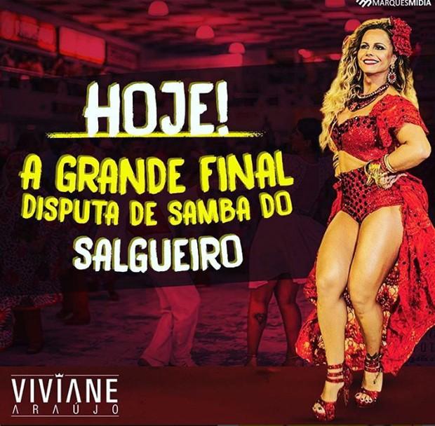 Evento na Salgueiro é para escolher samba-enredo da escola (Foto: Reprodução/Instagram)