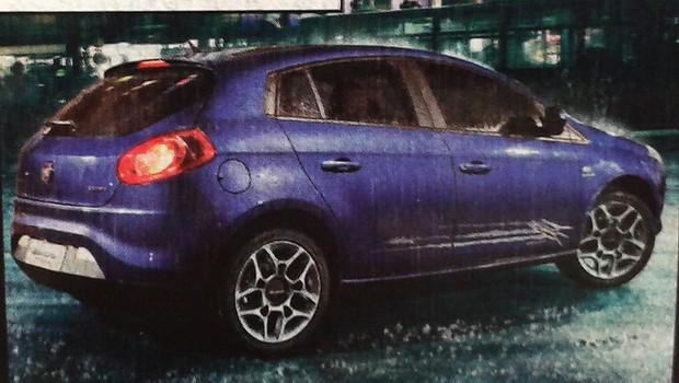 Edição especial Fiat Bravo Wolverine traz itens de série exclusivos (Foto: Reprodução)
