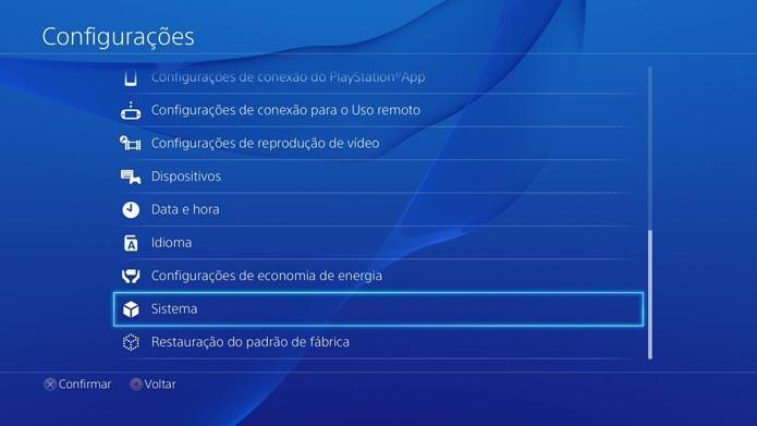 Playstation 4: como habilitar o HDMI do console para uso de placas de captura (Foto: Reprodução/Murlo Molina)