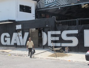 Sede da Gaviões Corinthians (Foto: Daniel Romeu / Globoesporte.com)