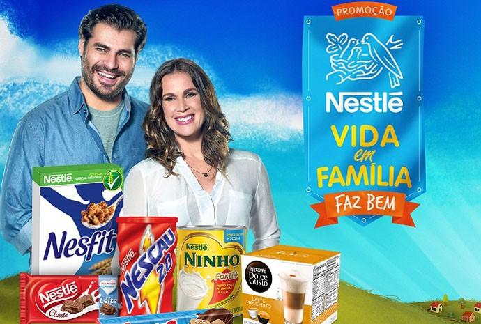 Participe da promoção Nestlè Vida em Família e concorra a R$ 1 milhão (Foto: Divulgação)