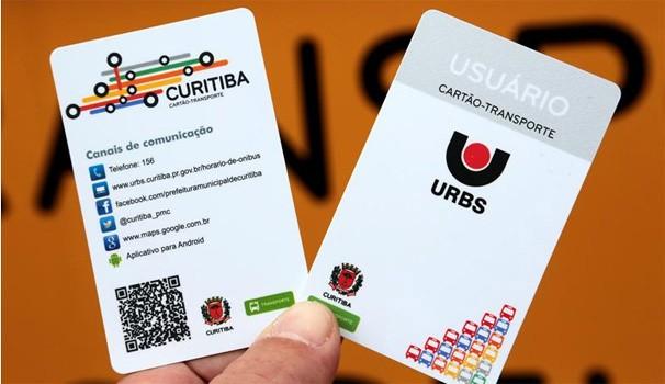 Paraná TV Cartão transporte (Foto: Jaelson Lucas/SMCS)