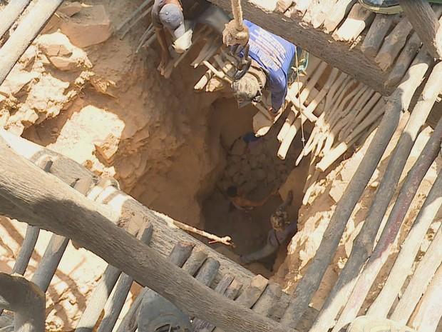 PREP Profissão Repórter vai mostrar o nascimento de um garimpo (Foto: TV Globo)