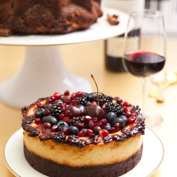 Cheesecake Vegano (Foto: Johnny Mazzilli)