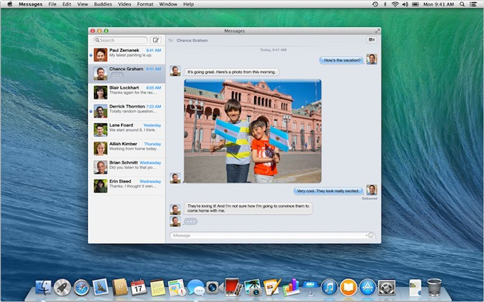 Como configurar serviços de mensagens Gmail e Yahoo no iMessage do Mac (Foto: Reprodução/Apple)