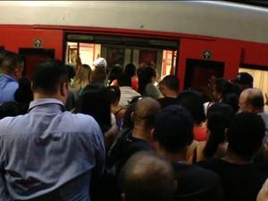 Aumenta o número de abusos contra mulheres no metrô de SP (Foto: Reprodução)