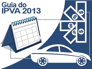 Selo guia IPVA 2013 (Foto: G1)