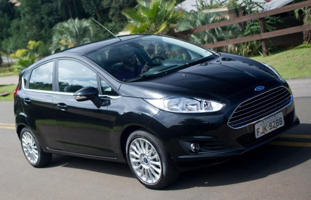 Ford New Fiesta 2014 (Foto: Flavio Moraes / G1)