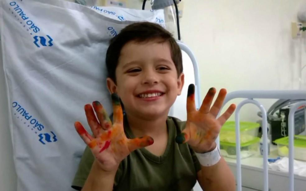 O menino Joaquim Ponte Marques foi encontrado morto após desaparecer da casa onde morava em Ribeirão Preto (Foto: Reprodução)