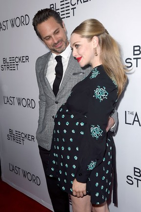 Thomas Sadoski e Amanda Seyfried em première em Los Angeles, nos Estados Unidos (Foto: Kevin Winter/ Getty Images/ AFP)