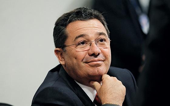 SE SENTIU TOTAL A Petrobras realizou o sonho de metal de Vital do Rêgo, presidente da CPI que a investiga (Foto: Alan Marques/Folhapress)