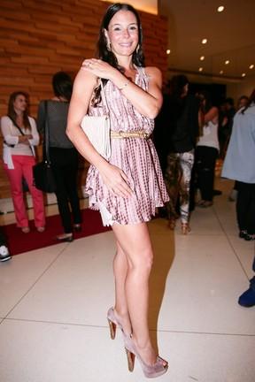 Mylla Christie em pré-estreia de filme em São Paulo (Foto: Raphael Castello/ Ag. News)
