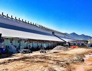 Obras parque olímpico da Barra (Foto: Divulgação/EOM)