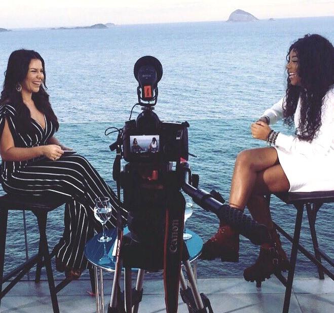 Ludmilla  mais uma convidada do programa de Fernanda Souza, que estreia em outubro no Multishow (Foto: Multishow)