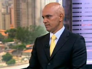 Alexandre de Moraes era homem forte de Kassab (Foto: Reprodução/TV Globo)