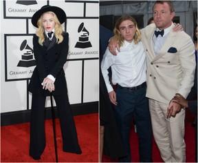 Madonna, Rocco e Guy Ritchie: batalha doméstica (Foto: AFP/ Getty Images)