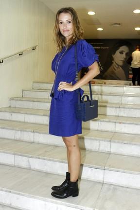Juliana Didone em estreia de peça na Zona Sul do Rio (Foto: Ag. News)