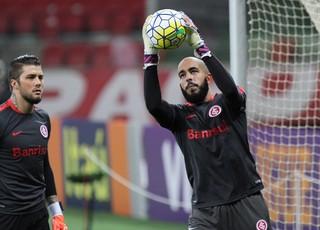 Danilo Fernandes Inter x Atlético-PR (Foto: ROBERTO VINICIUS - Agência Estado)