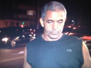 Motorista Onofre Marques da Silva disse que não percebeu que atropelou o ciclista Pedro Nikolay (Foto: Lívia Torres/G1)