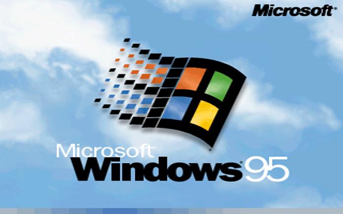 O Windows 95 usa o sistema de arquivos FAT32 (Foto: Divulgação/Microsoft)