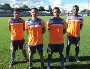 Volantes Grêmio Prudente Sub-20 (Foto: Ronaldo Nascimento / GloboEsporte.com)