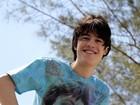 Thalles Cabral, de 'Amor à vida', posa para o EGO na praia da Barra da Tijuca, na Zona Oeste do Rio