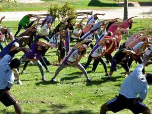 Ações convidaram os sorocabanos a colocarem uma atividade física na rotina (Foto: Zaqueu Proença)