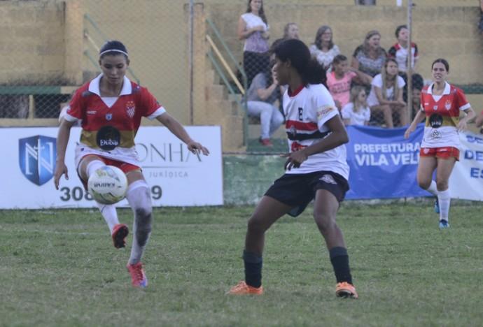 Campeonato Capixaba Feminino 2016: Vila Nova-ES x Comercial-ES (Foto: Vitor Jubini/A Gazeta)