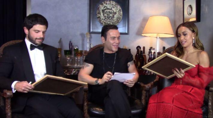 Sabrina Sato e Duda Nagle respondem as perguntas do nosso Mister V (Foto: Reprodução/Youtube)